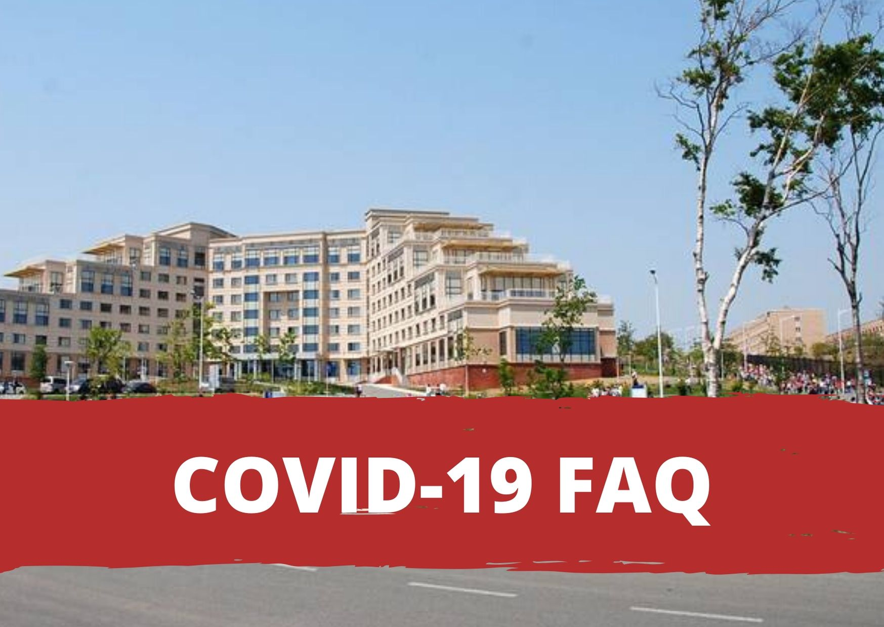 Frequently asked questions regarding COVID-19