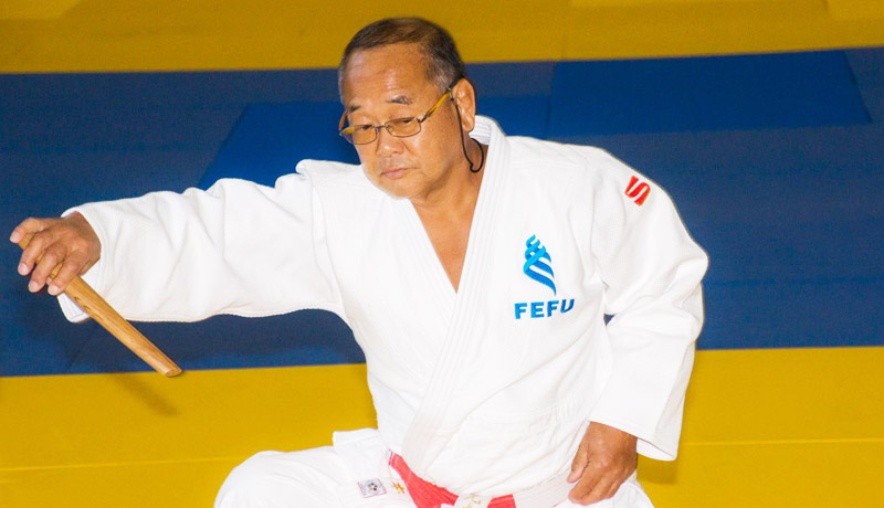 World-class coach conducts judo master classes for FEFU students and faculty