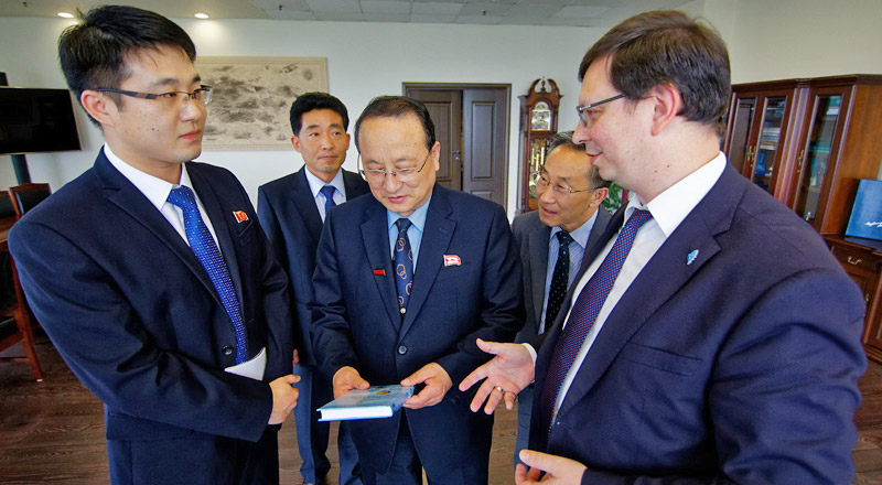 FEFU and main North Korean technical university are ready to cooperate in research and education