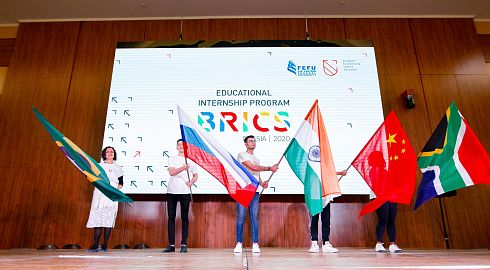 FEFU transferred to the online educational program for students of BRICS countries