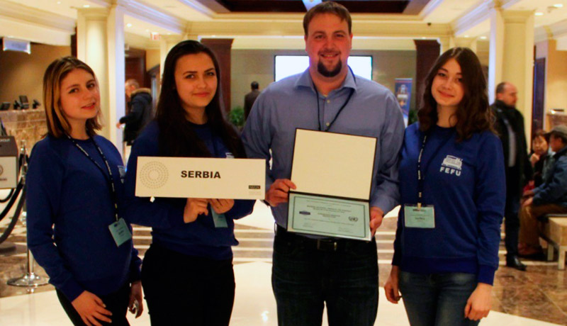 FEFU students received National Model United Nations Awards in New York