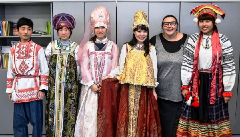 Month of Russian Culture was held for FEFU international students