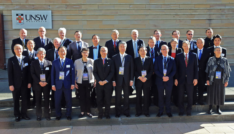 Nikita Anisimov represented Russia at the Annual Presidents Meeting of the Association of Pacific Rim Universities