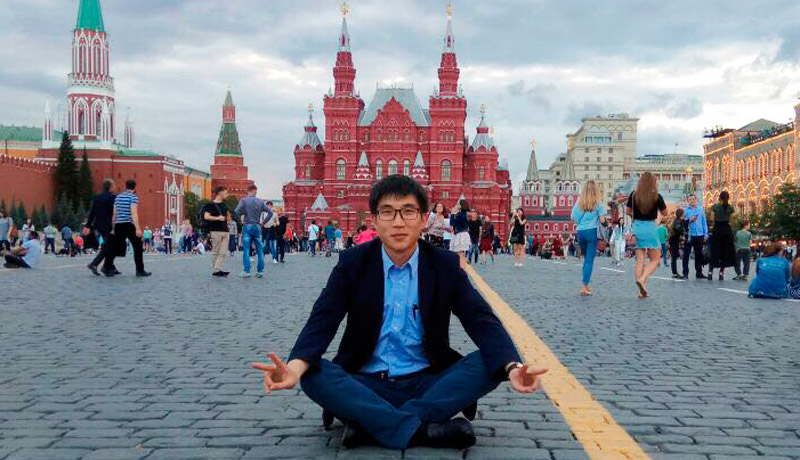 FEFU Chinese postgraduate student won All-Russian Olympiad in Russian language