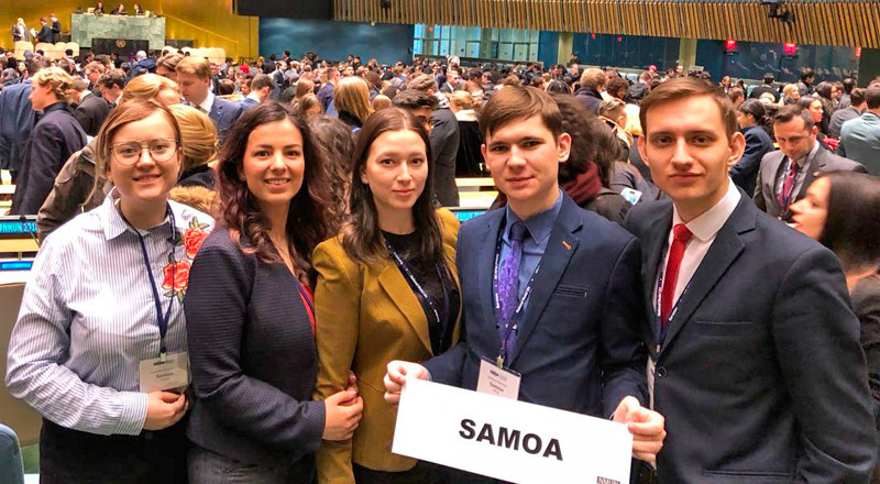 FEFU students won United Nations National Model Award in New York