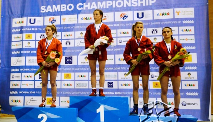 FEFU Sambo Wrestler Anastasia Khramova won University World Championship