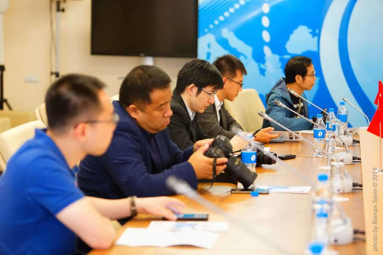 Reporters from leading Asian mass media visited FEFU