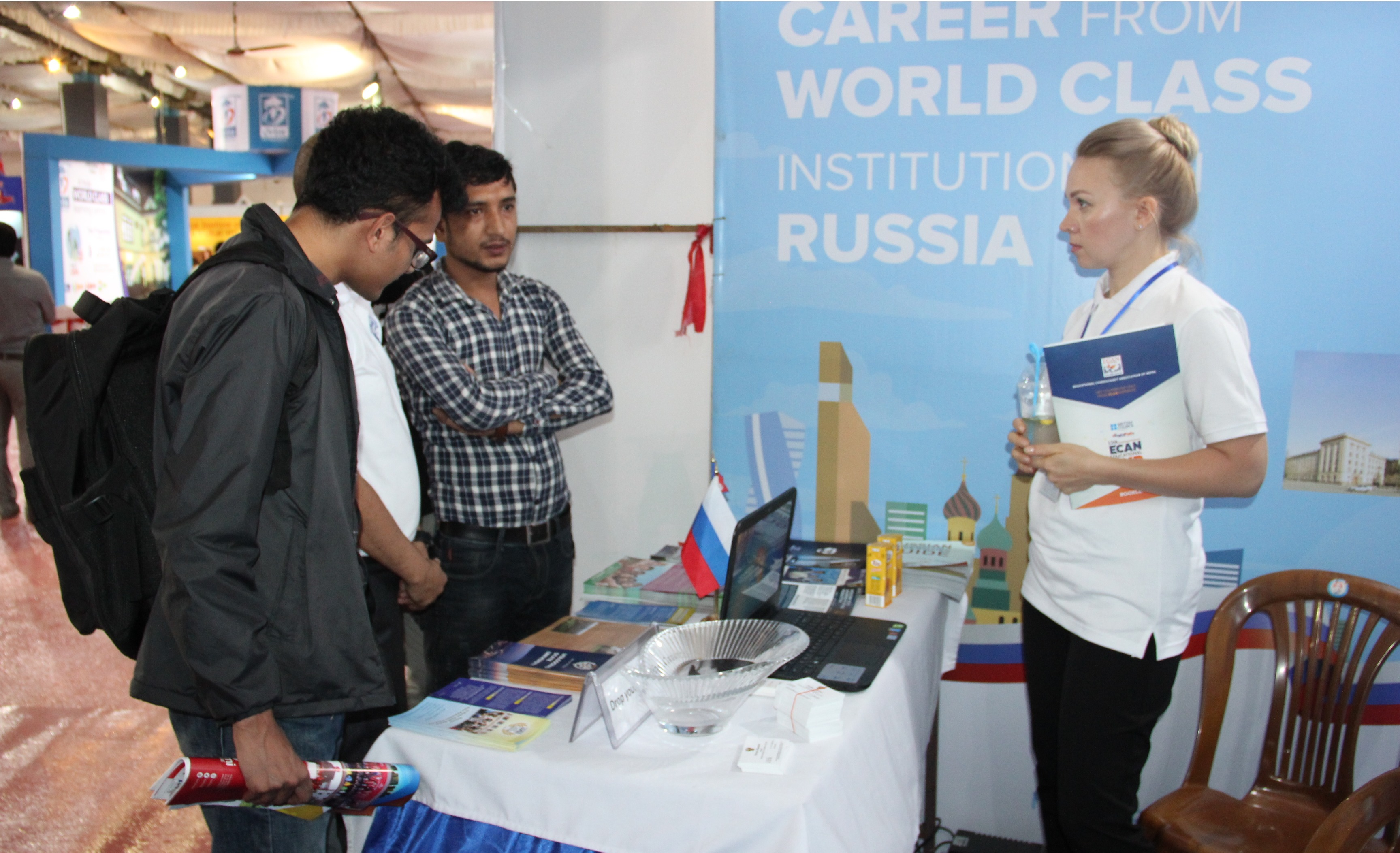 FEFU is presented in the annual International Educational Exhibition in Nepal