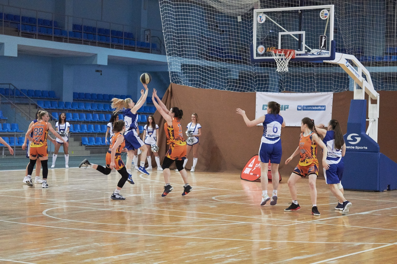 FEFU female basketball team qualifies for the Belov League Super Final