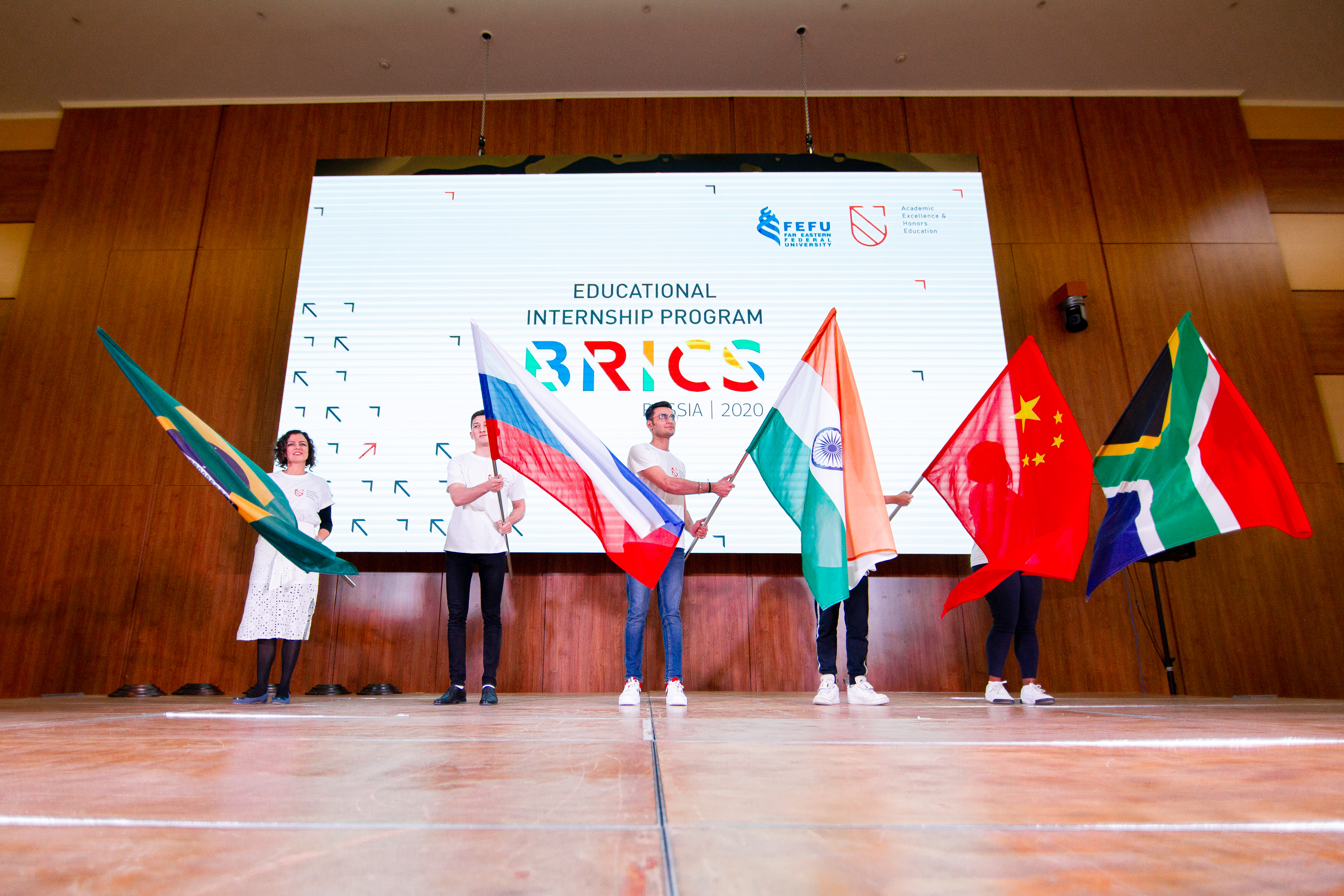 More than 100 BRICS students completed the four-month program at FEFU