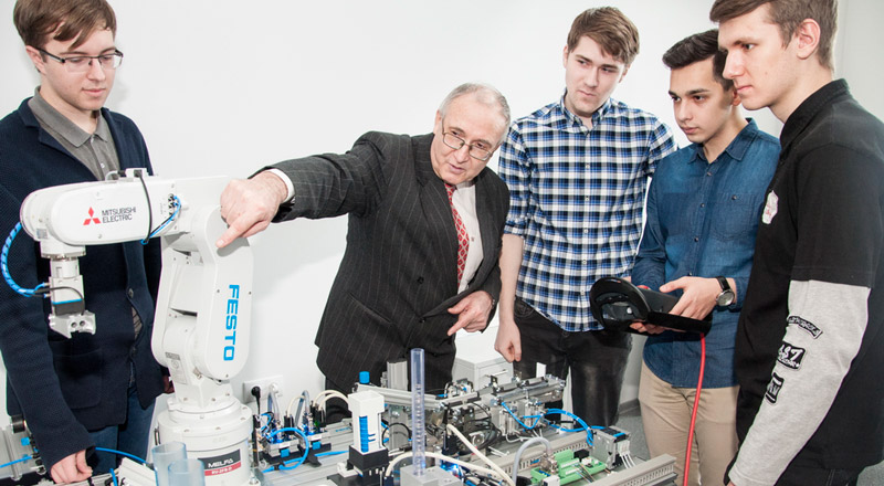 FEFU professor received more than 300 patents for inventions in robotics