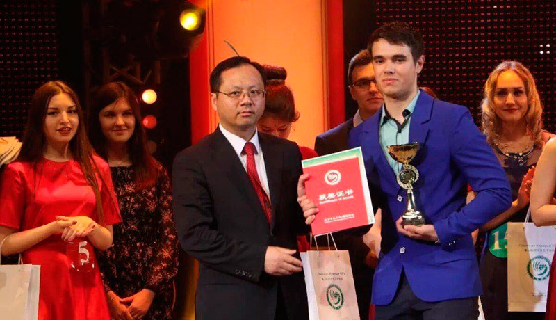 FEFU student Pavel Karelin to represent Russia at the World Chinese Language Competition
