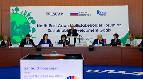 FEFU Hosted the North-East Asian Multistakeholder Forum on Sustainable Development Goals