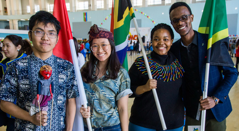 Only peace and friendship: Day of International Student Unity brought together FEFU students