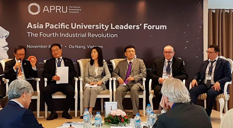 FEFU and universities of the Asia-Pacific region are united to face the challenges of the fourth industrial revolution