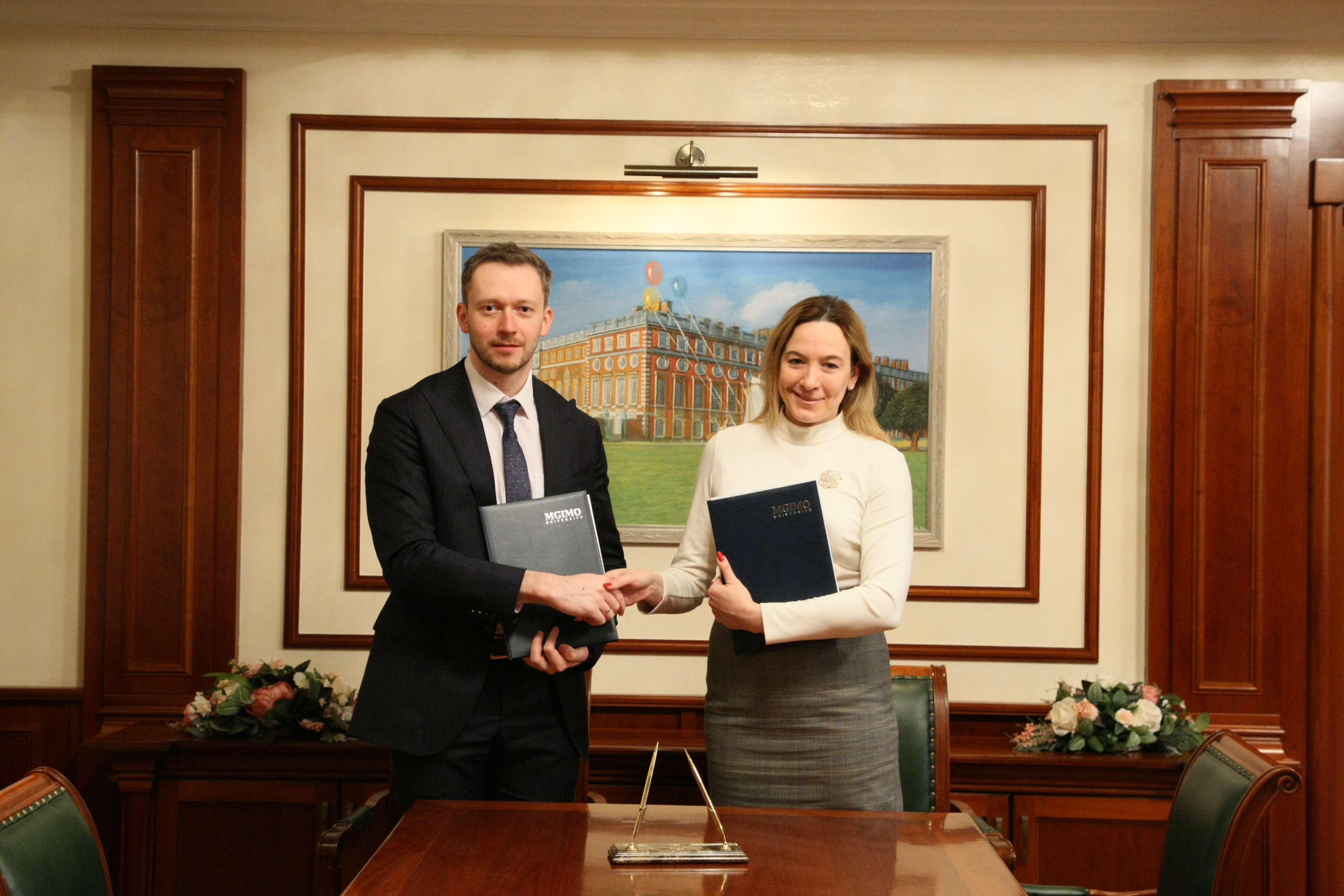 FEFU continues to develop cooperation with MGIMO university