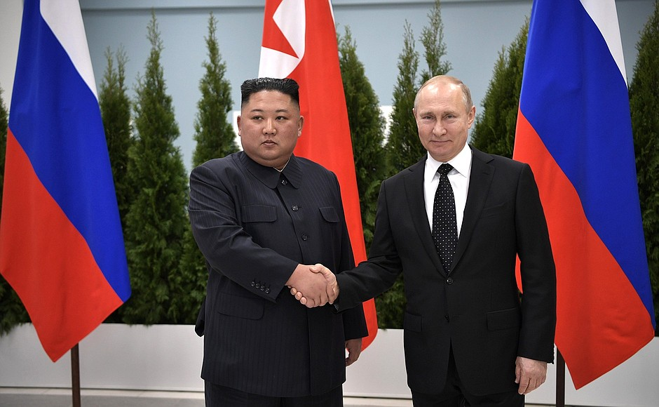 Vladimir Putin is satisfied with the results of negotiations with Kim Jong-un