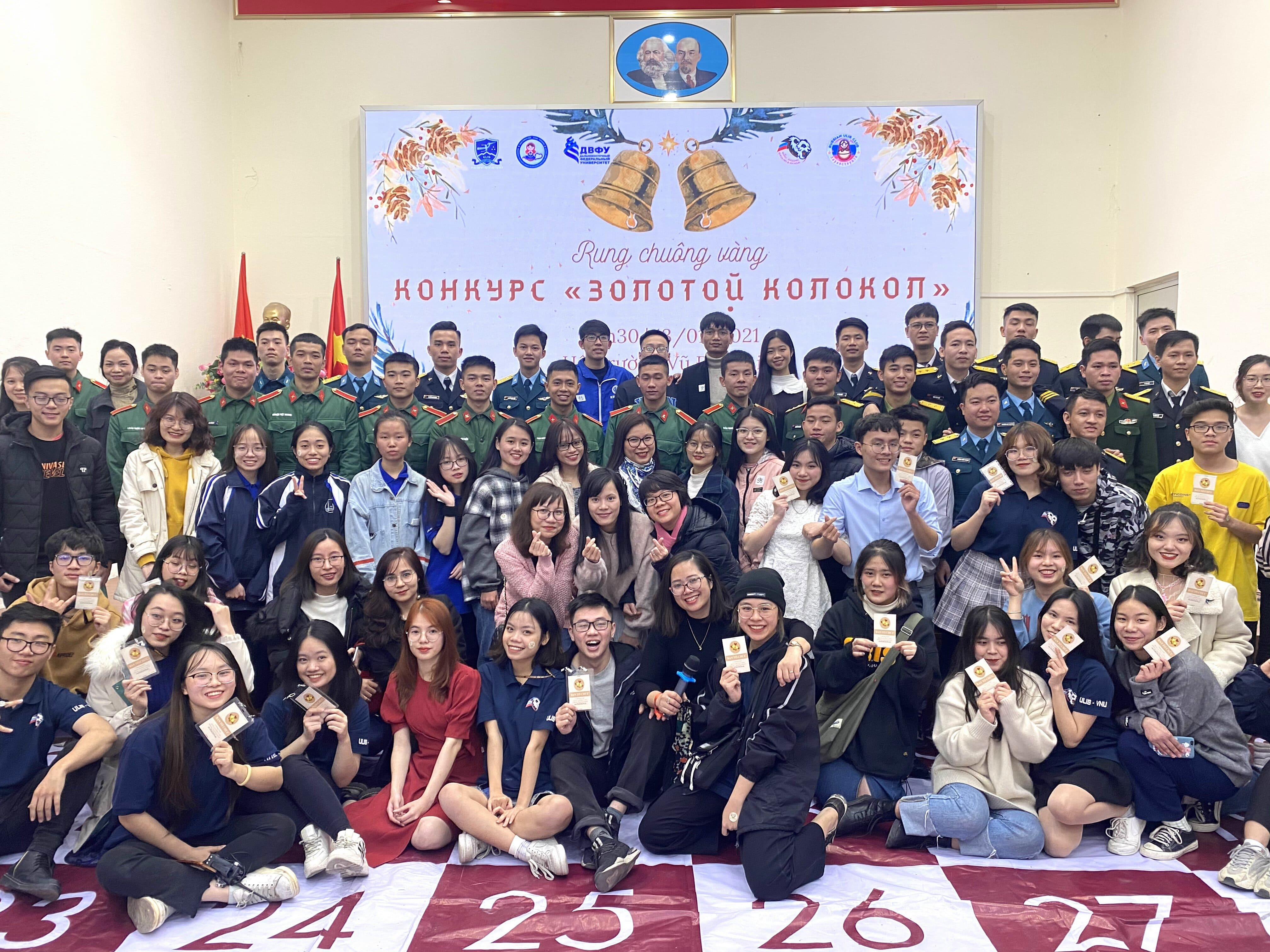 Russian language competition was held in Hanoi
