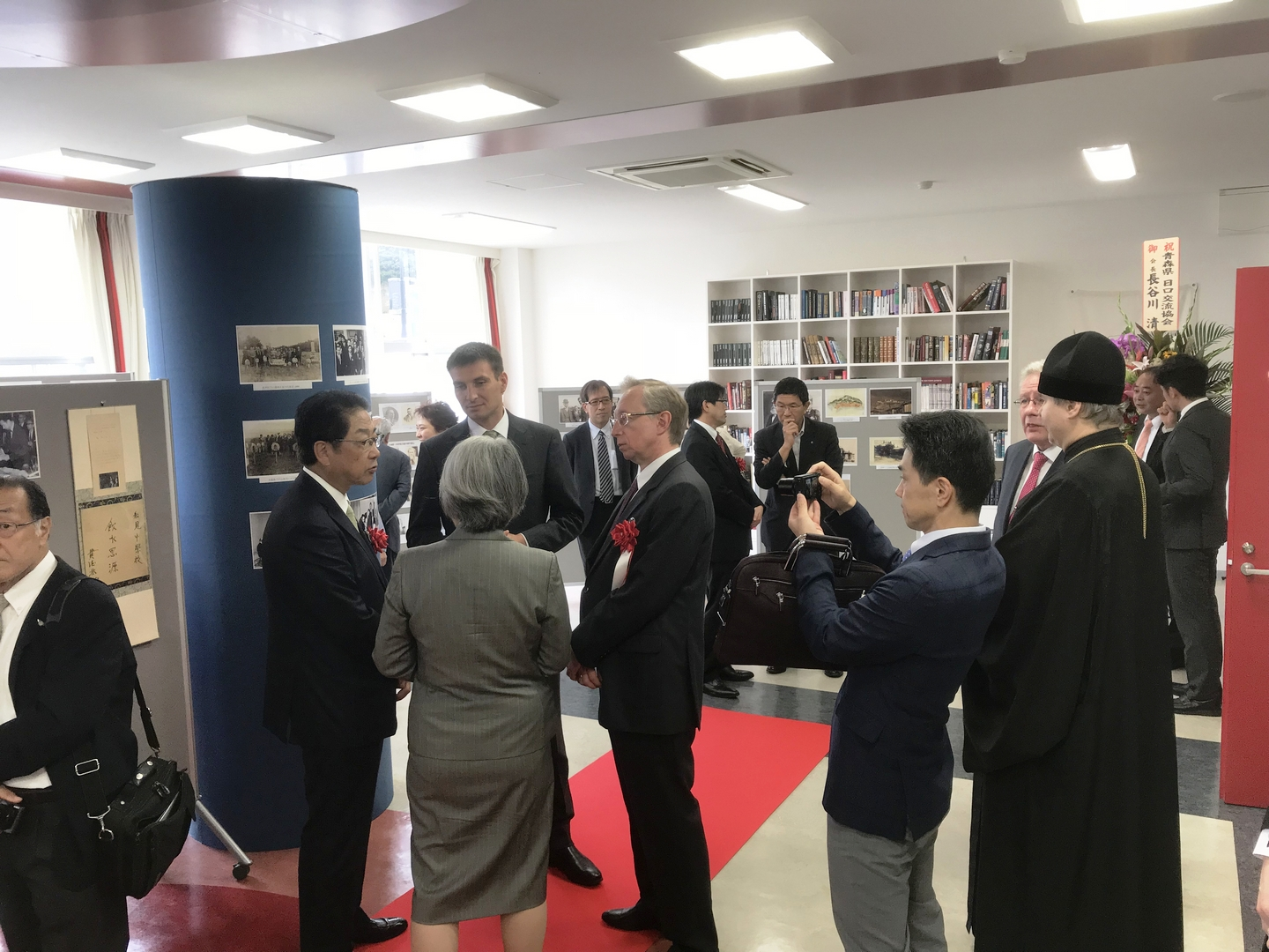 FEFU Branch Campus Hakodate Hosts Japan-Russia Photo Exhibition dedicated to the 160th anniversary of founding the Russian Imperial Consulate in Hakodate