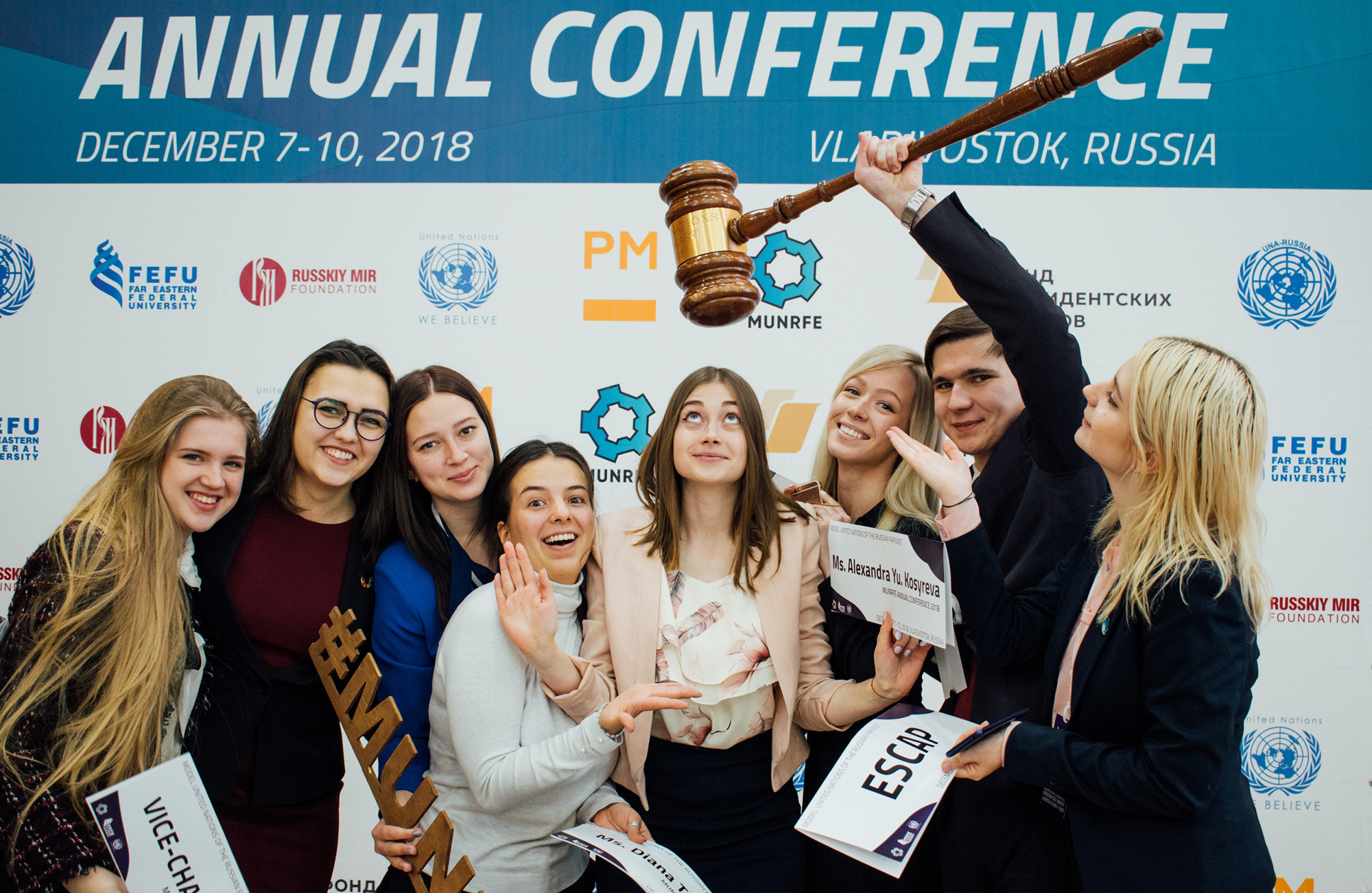 FEFU students to represent Russia in the United Nations National Model in New York
