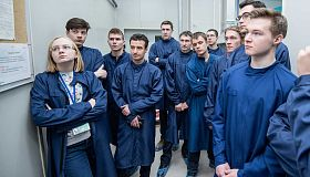 Students of the FEFU School of Engineering presented their developments in Moscow
