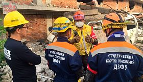 FEFU student rescuers represented Russia at international exercises