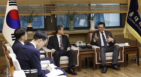 FEFU and leading Korean universities plan to launch new programs and student exchanges