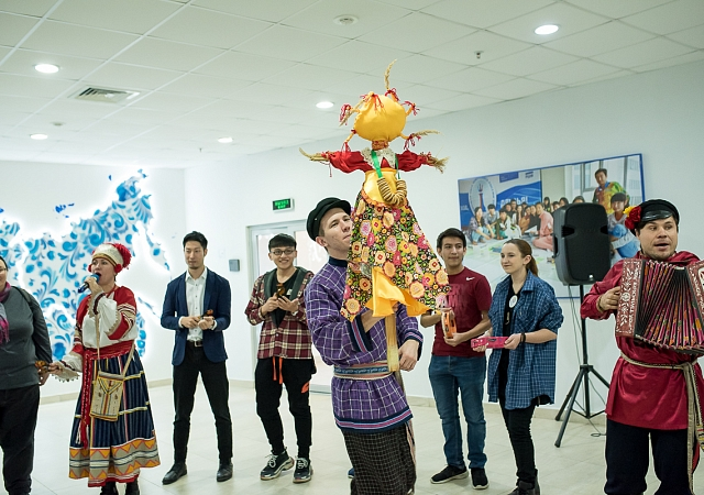 Carnival Day at the FEFU Center of Russian Language and Culture