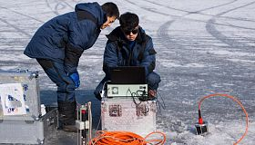FEFU and Chinese researchers began tests of unique subglacial communication for Arctic