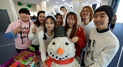 New Year Party for FEFU international students