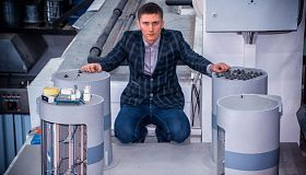 FEFU graduate student developed new design of ice-resistant offshore platform