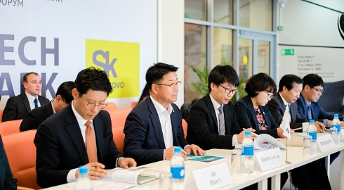 Russky Technopark was presented to Kangwon Province Delegation